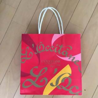 ロクシタン(L'OCCITANE)の(送料無料)L'OCCITANEショップ袋(ショップ袋)