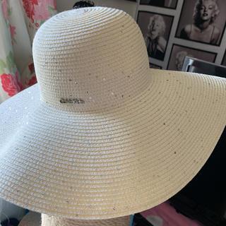 カルバンクライン(Calvin Klein)のカシラ  カルバン・クライン 帽子 麦わら (キャップ)