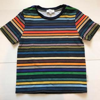 ポールスミス(Paul Smith)のポールスミス ジュニア キッズ Tシャツ 2a 90㎝ マルチストライプ(Tシャツ/カットソー)