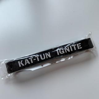 カトゥーン(KAT-TUN)の非売品 KAT-TUN リストバンド。(アイドルグッズ)