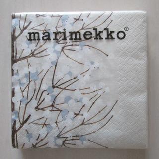 マリメッコ(marimekko)のマリメッコ 紙ナプキン 20枚入(24cm×24cm)◆未開封(その他)