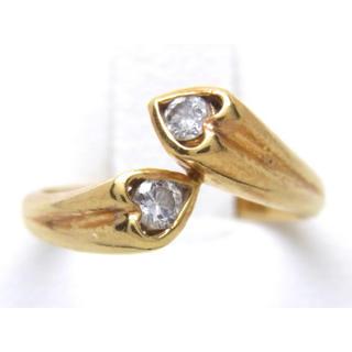 K18 ダイヤモンド リング(リング(指輪))