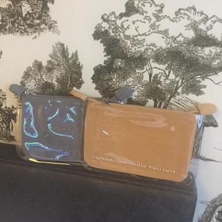 ルイヴィトン(LOUIS VUITTON)の新品♡紙袋付き フォンダシオン  ルイヴィトン ポーチ☆キャメル色(ポーチ)