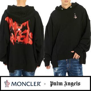 MONCLER - 【01】MONCLER GENIUS⑧PALM ANGELSロゴペイントパーカー