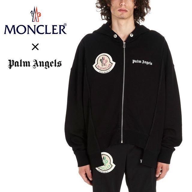 MONCLER(モンクレール)の【02】MONCLER GENIUS⑧PALM ANGELSジップアップパーカー メンズのトップス(パーカー)の商品写真