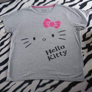 ハローキティ(ハローキティ)の大きいサイズTシャツ(Tシャツ(半袖/袖なし))