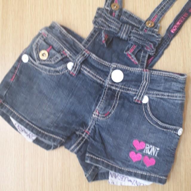 RONI(ロニィ)のロニィ サロペット SM キッズ/ベビー/マタニティのキッズ服 女の子用(90cm~)(その他)の商品写真