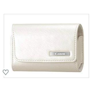 キヤノン(Canon)のcanon ソフトケースCSC-2WH(ホワイト)(ケース/バッグ)