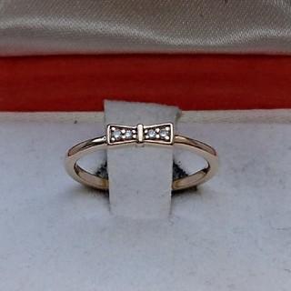 ヨンドシー(4℃)の4℃ k10 YG ダイヤモンド リング(リング(指輪))