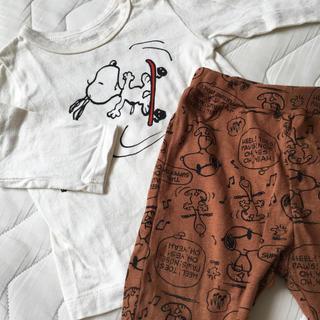 ブリーズ(BREEZE)のBREEZE ブリーズ,スヌーピー,Tシャツ&ズボン,セットアップ(Tシャツ)