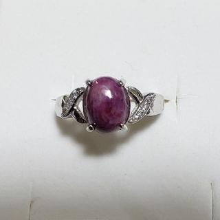天然石 ルビーリング  (リング(指輪))