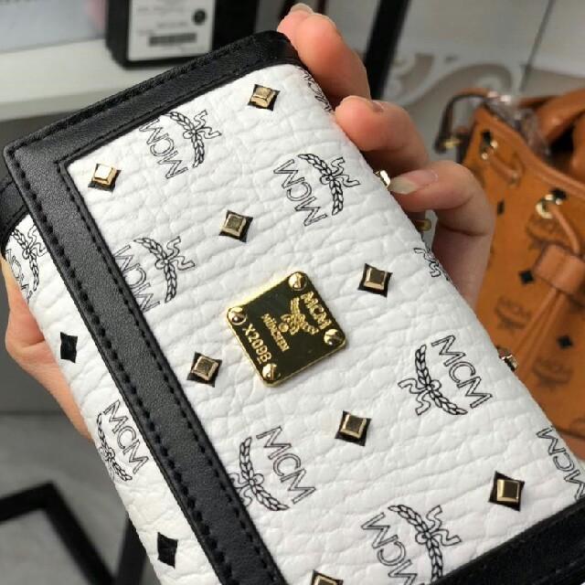 MCM - 2019mcm 新作 財布 ホワイト の通販 by 格好がいい's shop|エムシーエムならラクマ