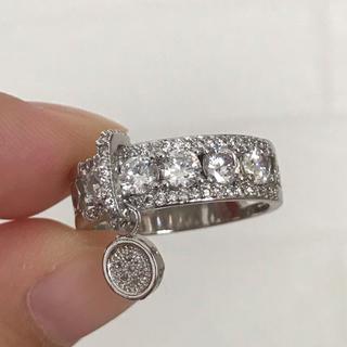 リング 指輪 CZ ダイヤ 20号 大きいサイズ ゴージャス(リング(指輪))