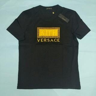 ヴェルサーチ(VERSACE)のVERSACE Tシャツ 半袖 男女兼用 夏コーデ 超美品(Tシャツ/カットソー(半袖/袖なし))