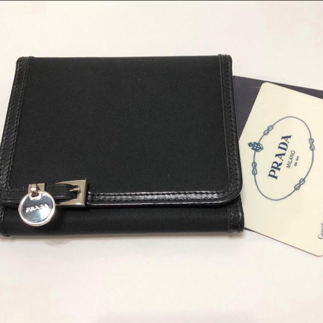 PRADA - 【 美品 】プラダ ナイロン レザー 3つ折り財布 PRADA の通販 by M|プラダならラクマ
