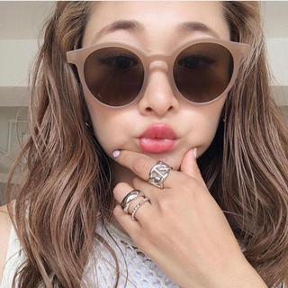 アメリヴィンテージ(Ameri VINTAGE)のKLEAR!即納!ベージュサングラス♡まとめ買い歓迎♡(サングラス/メガネ)