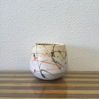 ●Trapezoid POT -SPLASH Orange- No.44(プランター)