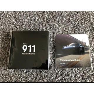 ポルシェデザイン(Porsche Design)のポルシェ 911 コースターPORSCHE(ノベルティグッズ)