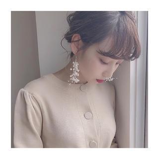 アメリヴィンテージ(Ameri VINTAGE)のpearl shower earring(イヤリング)