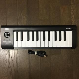 コルグ(KORG)のkorg micro key 25(MIDIコントローラー)