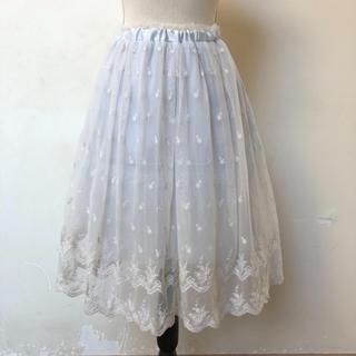 リズリサ(LIZ LISA)のレーススカート(ひざ丈スカート)