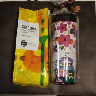 タリーズコーヒー(TULLY'S COFFEE)の☆レア☆タリーズタンブラー2019、 コーヒー豆(粉)(タンブラー)