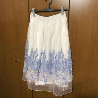 シフォンふんわりスカート(ロングスカート)