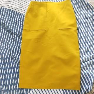 デミルクスビームス(Demi-Luxe BEAMS)のDemi-Luxe BEAMSダブルクロス ベイカースカート(ひざ丈スカート)