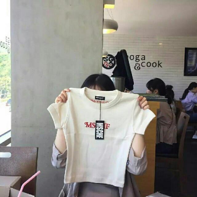 STYLENANDA(スタイルナンダ)のmschf Tシャツ レディースのトップス(Tシャツ(半袖/袖なし))の商品写真