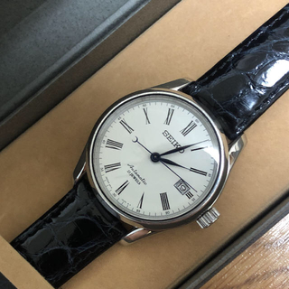 セイコー(SEIKO)のセイコー プレサージュ 琺瑯ダイヤル 腕時計  ロレックス オメガ(腕時計(アナログ))