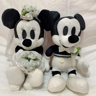 ヨンドシー(4℃)のウェルカムドール 結婚式 4°C ブライダル ミッキー (ウェルカムボード)