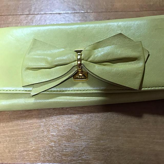 PRADA - PRADA  ミュウミュウ  長財布の通販 by トパーズ123's shop|プラダならラクマ