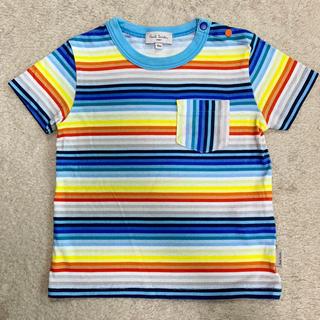 ポールスミス(Paul Smith)のPaul Smith ベビー カラフル ボーダー Tシャツ 18m(Tシャツ)