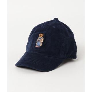 ポロラルフローレン(POLO RALPH LAUREN)の新品 ラルフローレン ベア キャップ 刺繍 POLO 2t 3t 4t ネイビー(帽子)