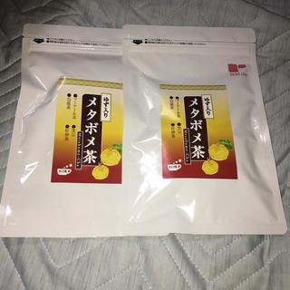 ティーライフ(Tea Life)のゆず入りメタボメ茶2袋. 8/6-9/15(健康茶)