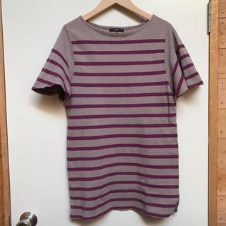 ハイク(HYKE)のgreen のボーダー Tシャツ  HYKE(Tシャツ(半袖/袖なし))