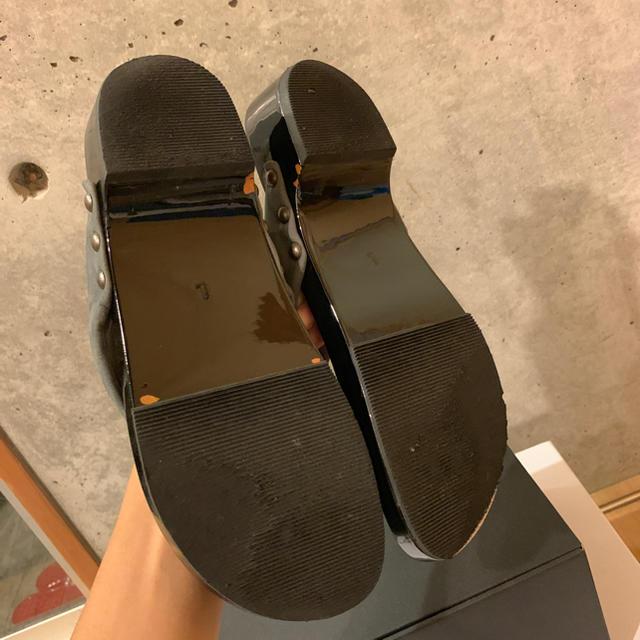 KANATA(カナタ)のka na ta 下駄 GETA グレー メンズの靴/シューズ(下駄/草履)の商品写真