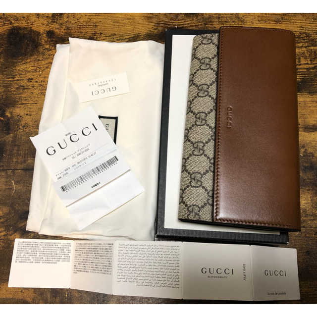 Gucci - GUCCI 未使用 長財布の通販 by SALE中|グッチならラクマ