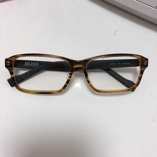 ヒューゴボス(HUGO BOSS)のメガネ(サングラス/メガネ)