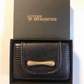 トフアンドロードストーン(TOFF&LOADSTONE)のTOFF&LOADSTONE 三つ折り財布(財布)