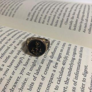 ★138 サイズ12号 イカリ 海軍リング 指輪 錨(リング(指輪))