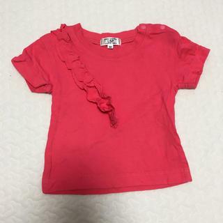 MARKEY'S - マーキーズ  Tシャツ トップス  1歳 女の子 夏  赤 ピンク 濃いめピンク