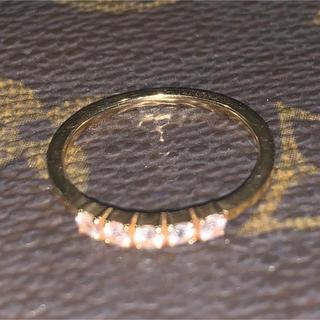 アガット(agete)のk18アガット、ホワイトトパーズリング(リング(指輪))