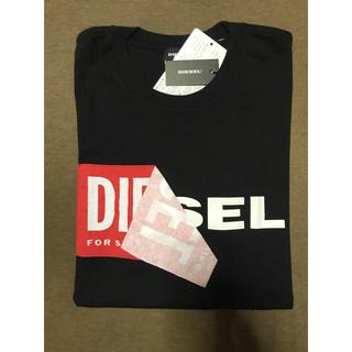 ディーゼル(DIESEL)のDIESEL ディーゼル Tシャツ Mサイズ 黒(Tシャツ/カットソー(半袖/袖なし))