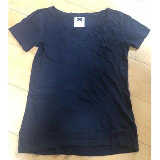 ギリーヒックス(Gilly Hicks)のGilly Hicks Tシャツ 紺色 Sサイズ(Tシャツ(半袖/袖なし))
