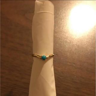 ターコイズ 指輪 K9 5号(リング(指輪))