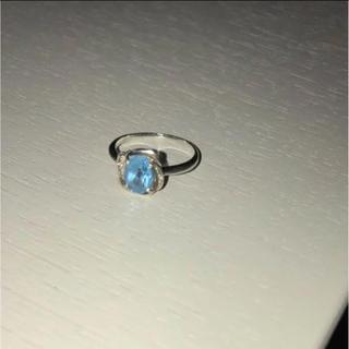 ブルートパーズ 指輪 10号(リング(指輪))