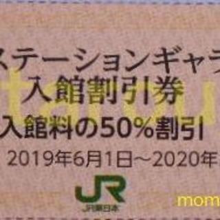 JR - JR東日本株主 東京ステーションギャラリー 入館割引券 50%割引 2枚 新品