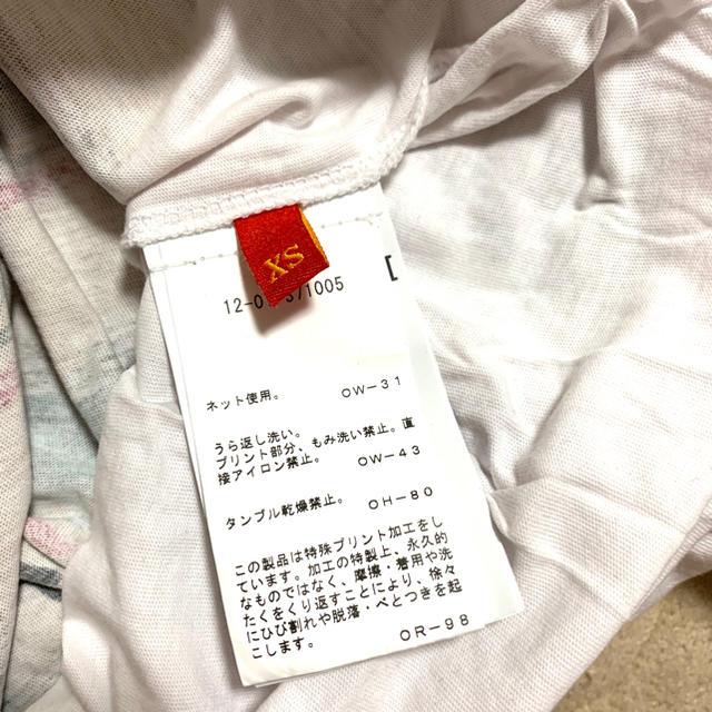 Vivienne Westwood(ヴィヴィアンウエストウッド)のヴィヴィアン レッドレーベル Tシャツ レディースのトップス(Tシャツ(半袖/袖なし))の商品写真