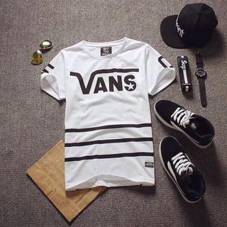 ヴァンズ(VANS)の【L】VANSTシャツ白(その他)